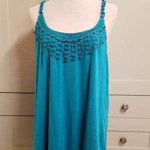 Maurices Teal Tank Top